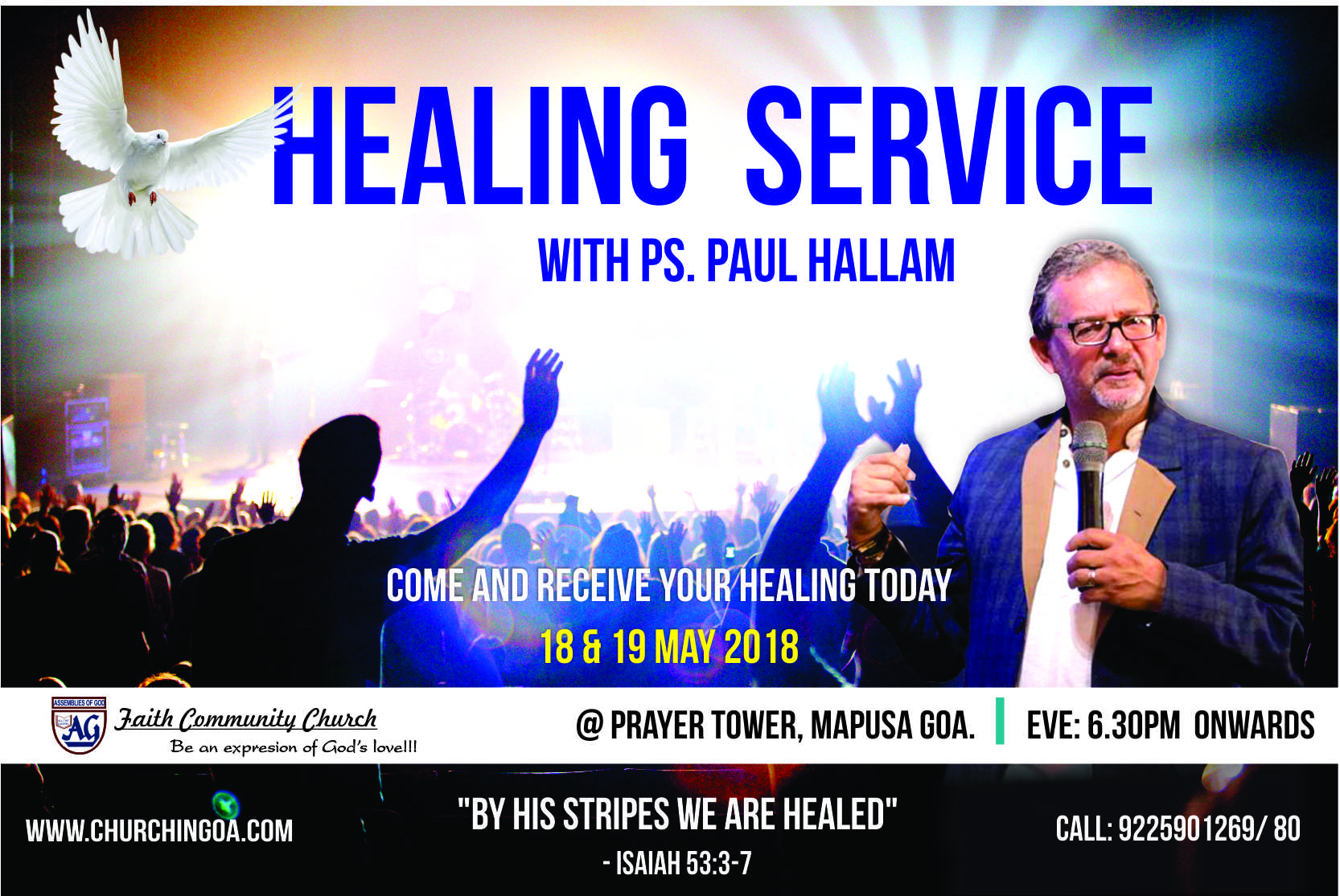 FAITH COMMUNITY CHURCH » Expression of God's Love » Healing